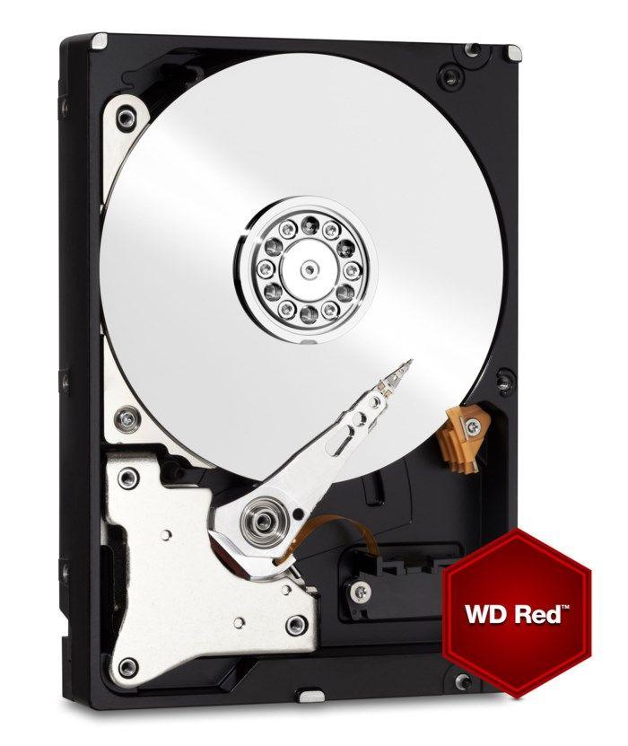 """WD Red Intern hårddisk 3,5"""" 6 TB"""