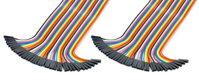 Luxorparts Delbar kopplingskabel 40-pol Hona-hona