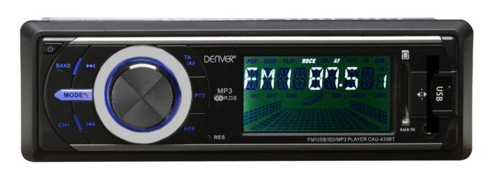 Denver CAU-439BT Bilstereo med Bluetooth