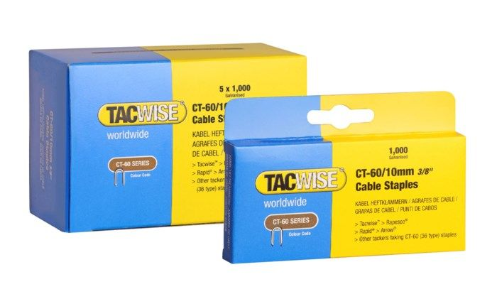 Tacwise CT-60 Kabelklammer 10 mm 5000-pack
