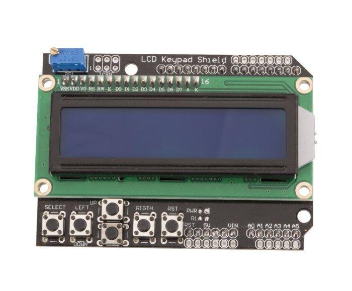 Luxorparts LCD-shield för Arduino
