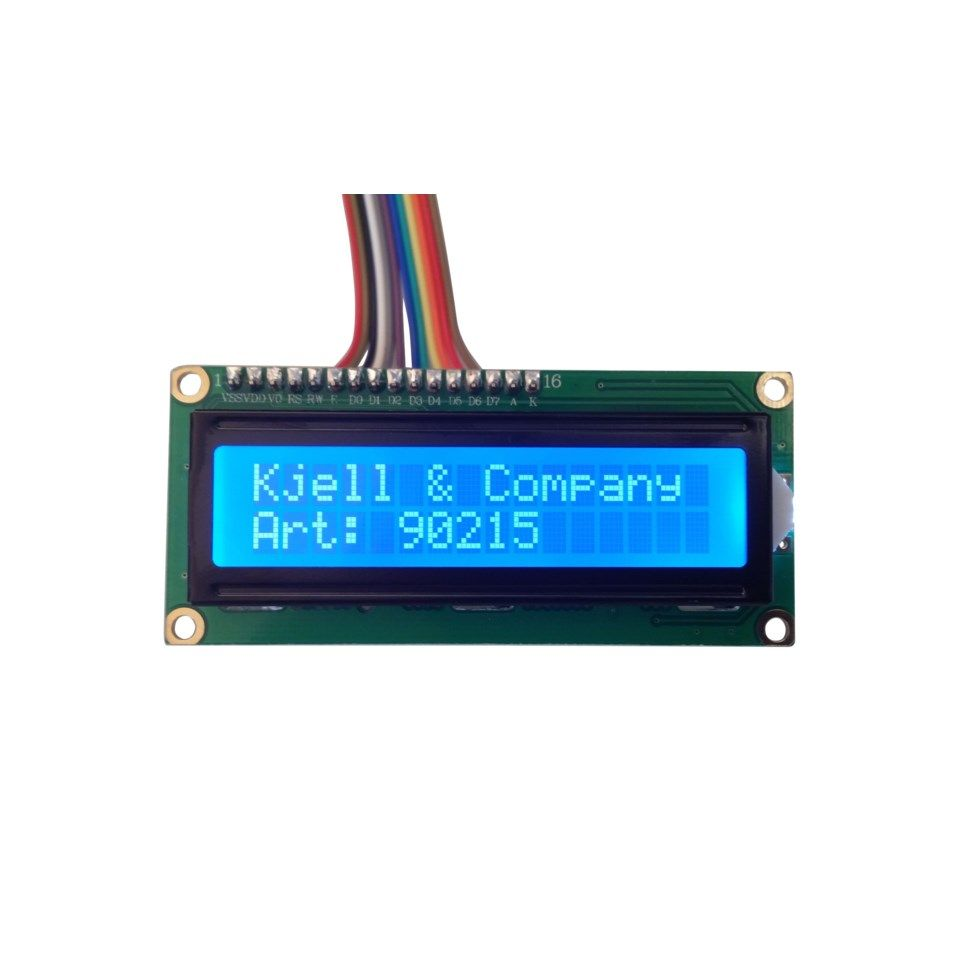 Luxorparts LCD-display 2x16