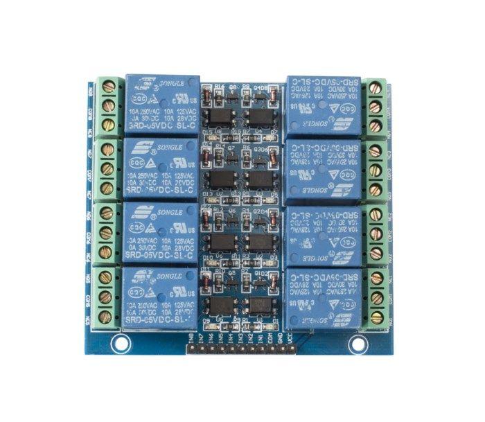 Luxorparts Relämodul för Arduino 4x2