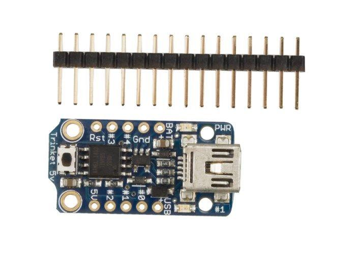 Adafruit Trinket mini mikrokontroller 5V