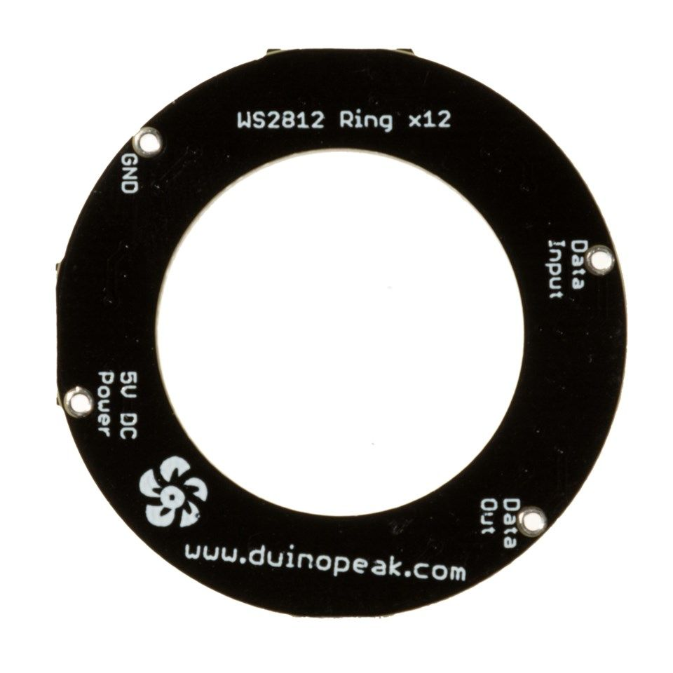 Luxorparts Adresserbar RGB LED-ring 12x LED
