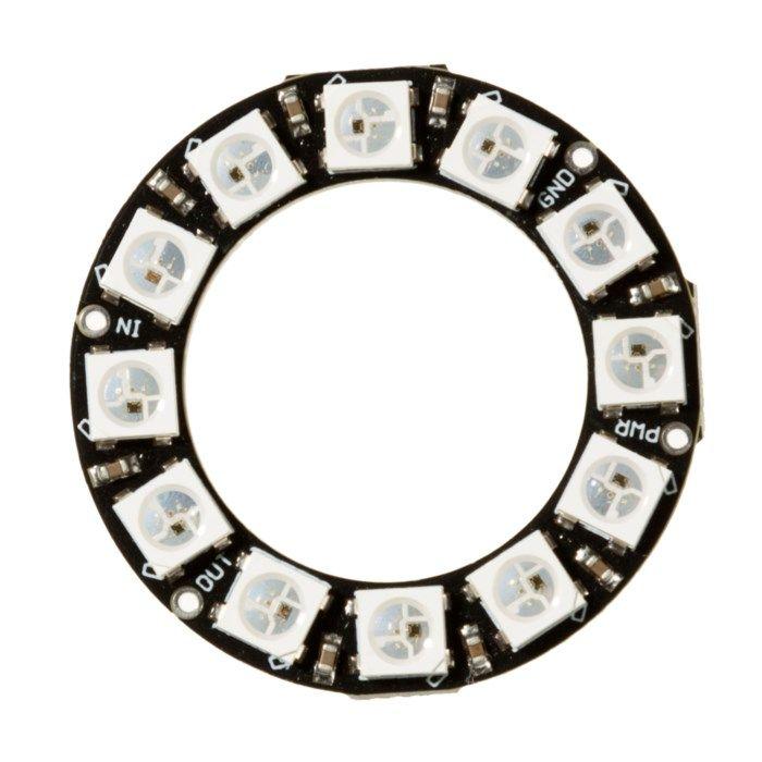 Luxorparts Adresserbar RGB LED-ring 12x LED