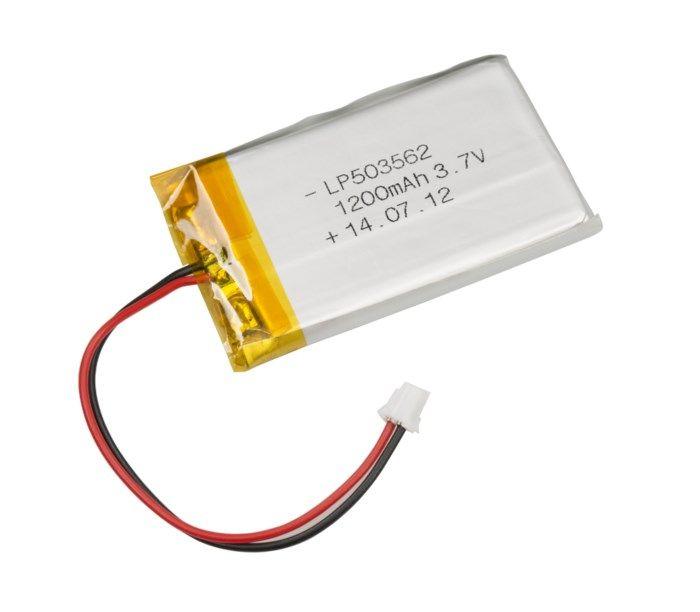 Luxorparts Li-Po-batteri 3,7 V med kontakt 1200 mAh