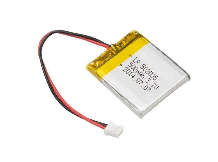 Luxorparts Li-Po-batteri 3,7 V med kontakt 500 mAh