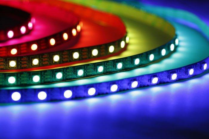 Luxorparts Adresserbar RGB LED-list 1 m