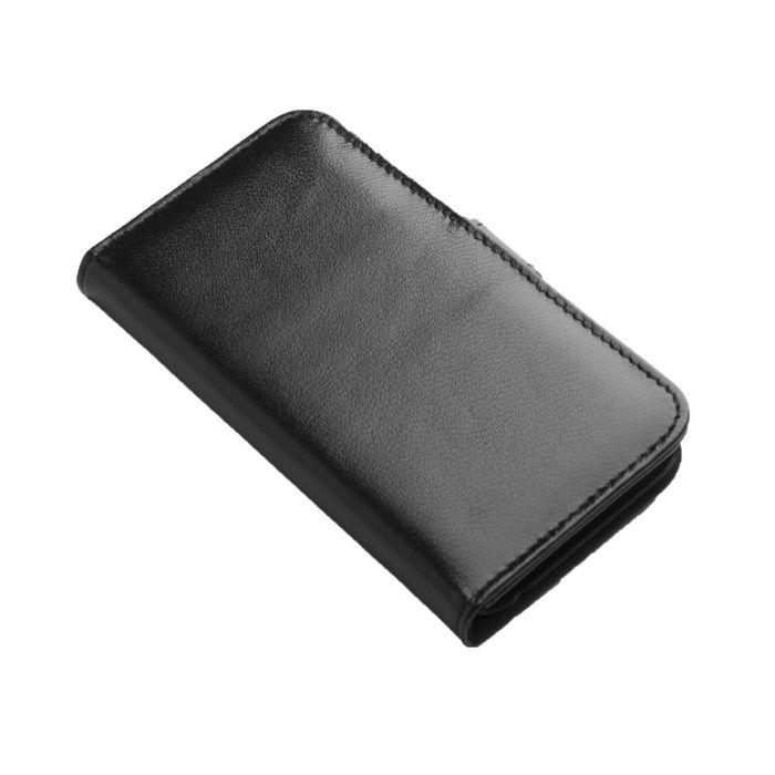 Linocell Mobilplånbok för iPhone 6 och 6s Svart