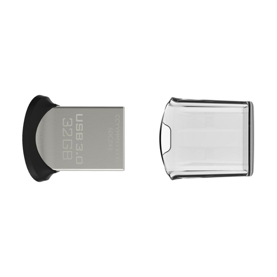 Sandisk Ultra Fit 3.0 USB-minne 32 GB