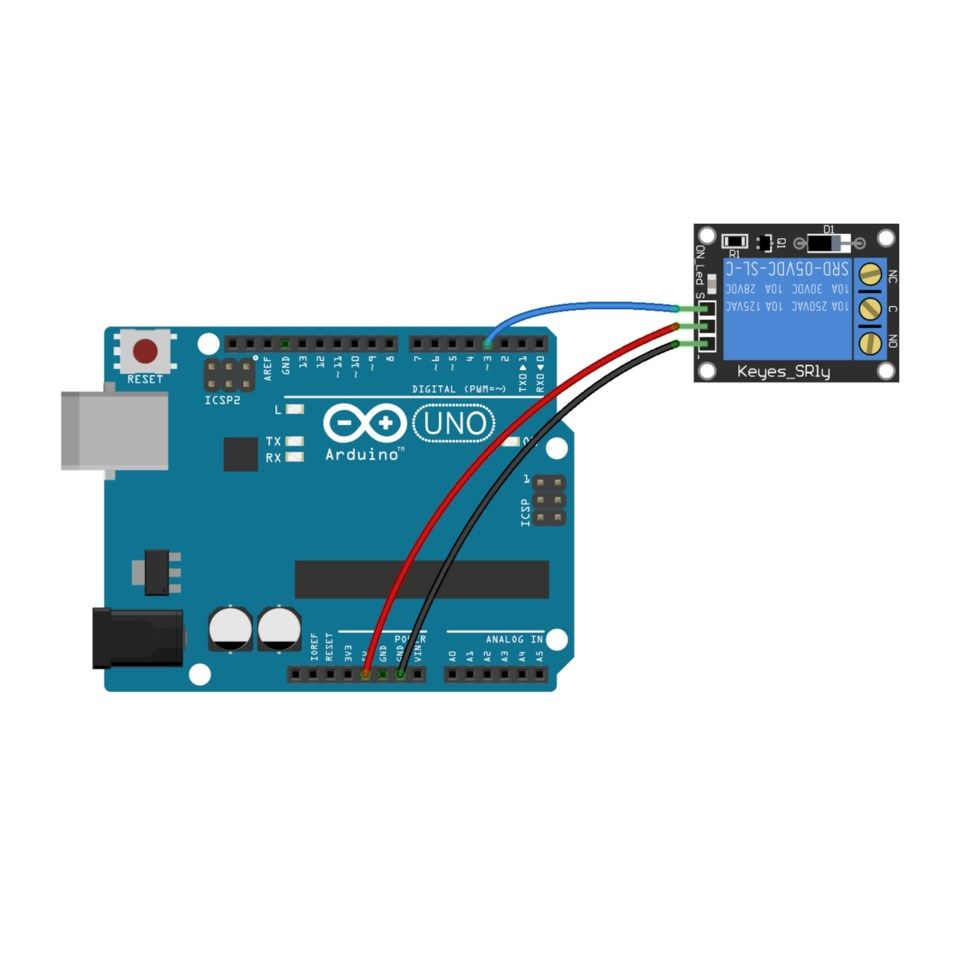 Luxorparts Relémodul for Arduino 1x