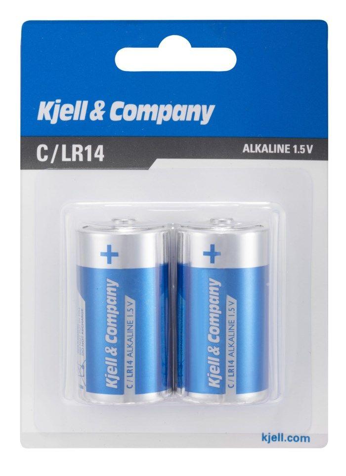 Kjell & Company C-batterier (LR14) 2-pack