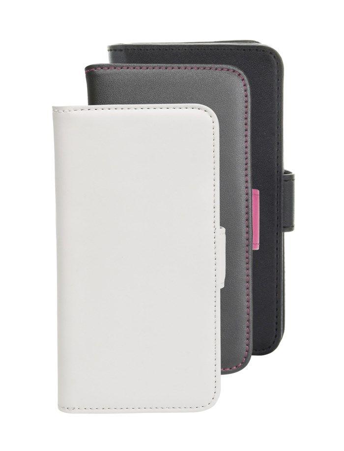 Stor mobilplånbok för iPhone 6 och 6s Svart