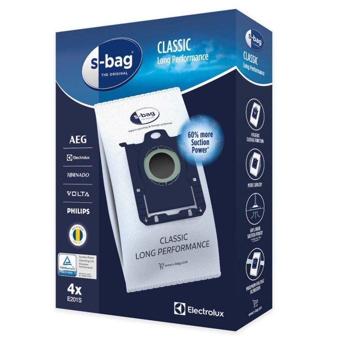 Electrolux dammsugarpåse Standard bag 4-pack