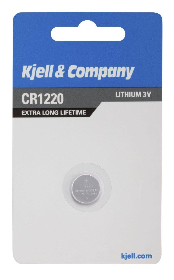 Kjell & Company Litiumbatteri CR1220
