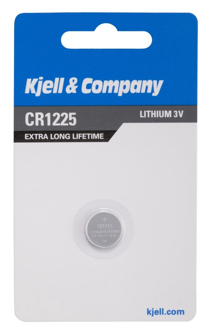 Kjell & Company Litiumbatteri CR1225