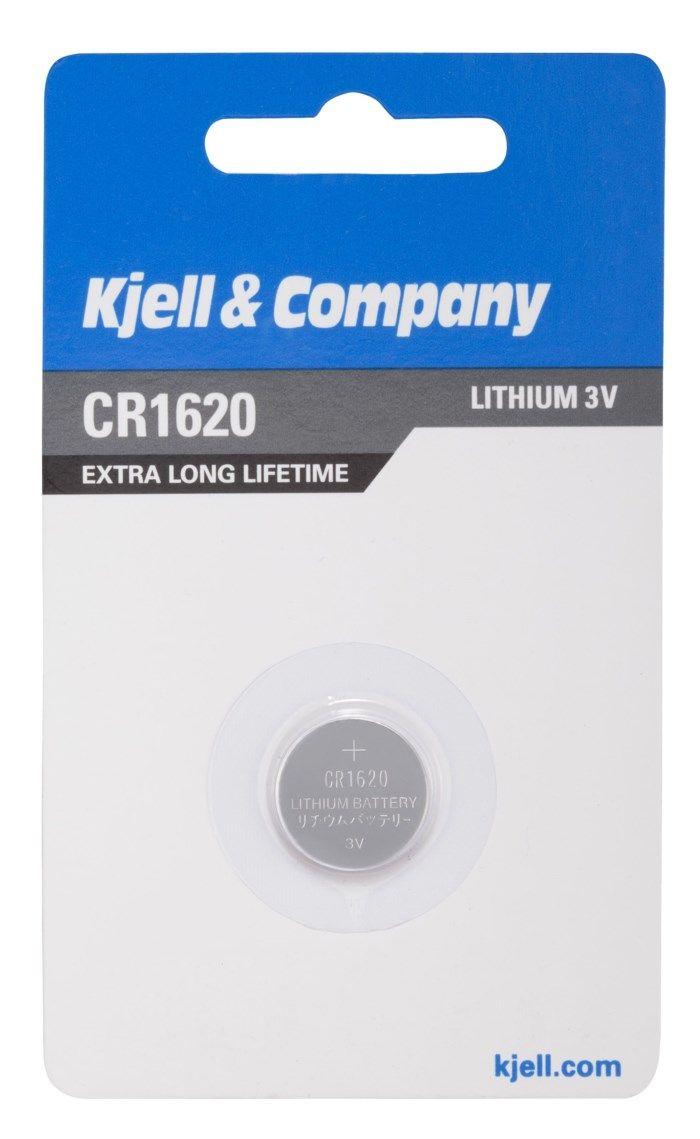 Kjell & Company Litiumbatteri CR1620