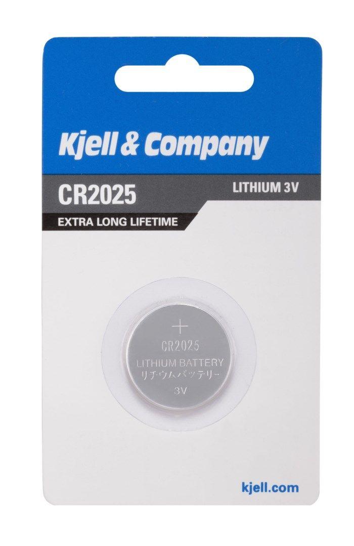 Kjell & Company Litiumbatteri CR2025