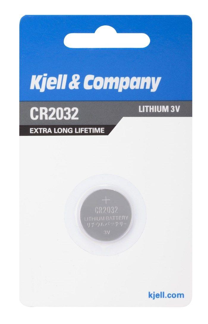 Kjell & Company Litiumbatteri CR2032