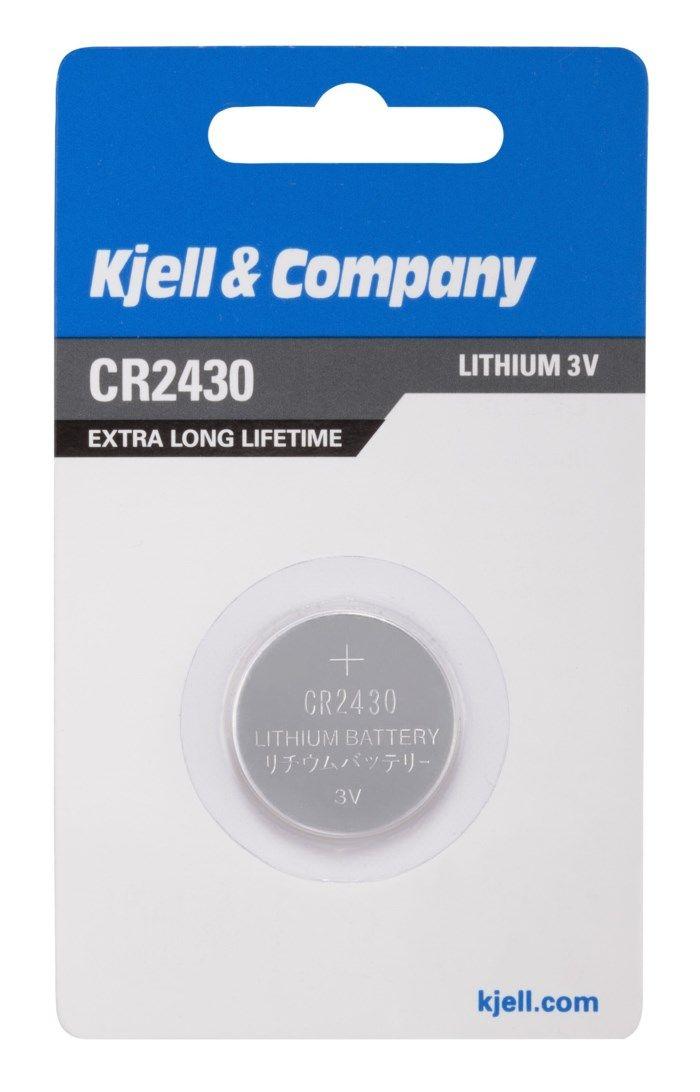 Kjell & Company Litiumbatteri CR2430