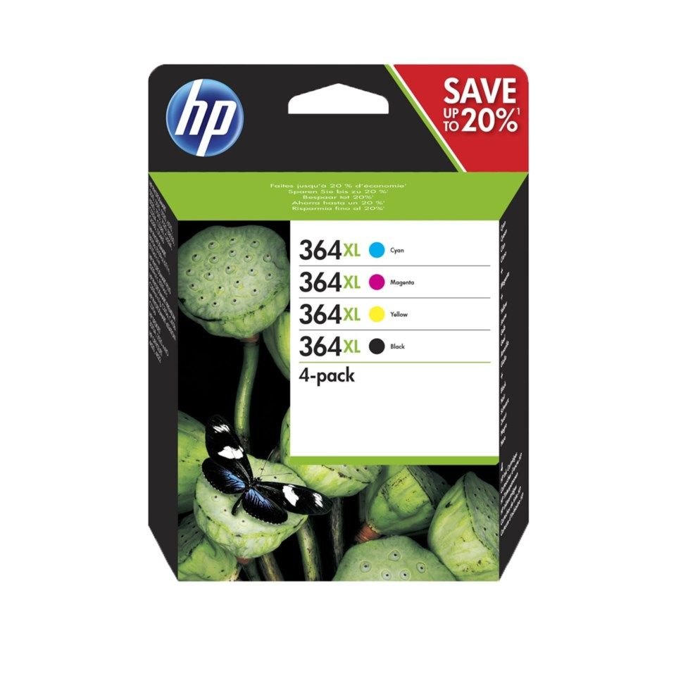 HP 364XL 4-pack