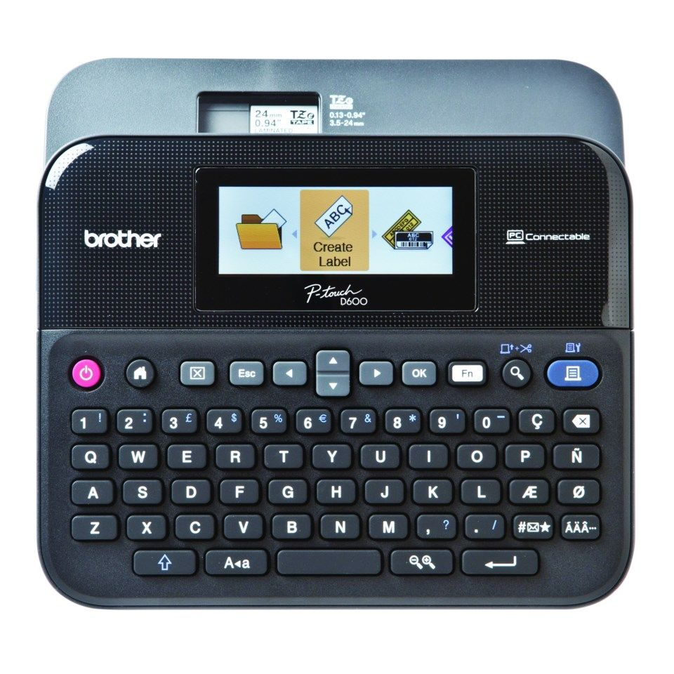 Brother P-touch PT-D600VP merkemaskin
