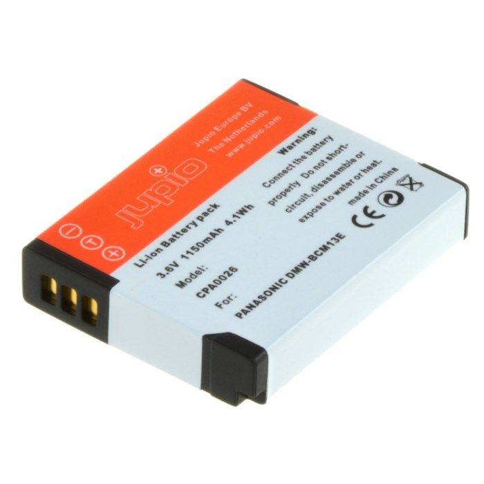 Jupio Kamerabatteri typ Panasonic DMW-BCM13E