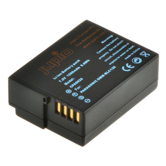 Jupio Kamerabatteri typ Panasonic DMW-BLC12E