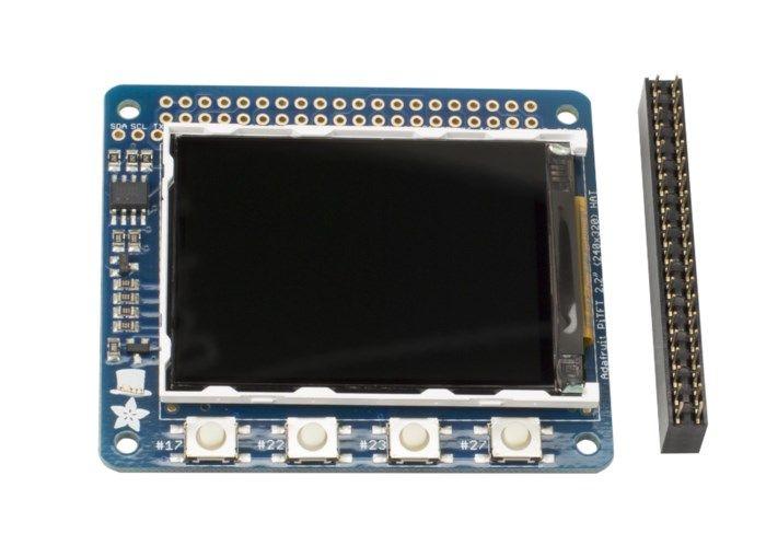 """Adafruit 2,2"""" mini-skärm för Raspberry Pi"""