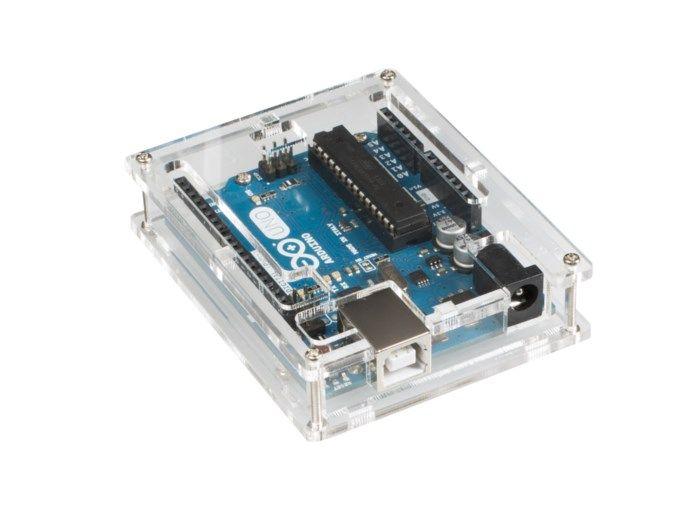 Inbyggnadslåda för Arduino Uno