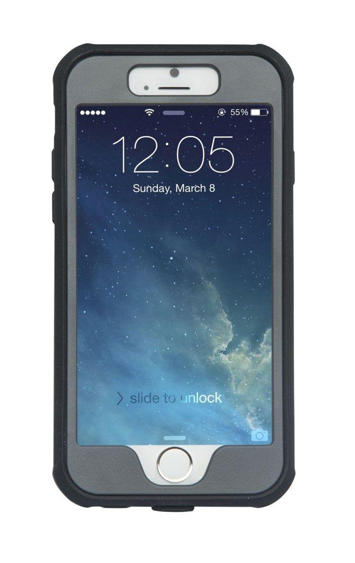 Linocell Rough 360 Tåligt mobilskal för iPhone 6 och 6s Svart