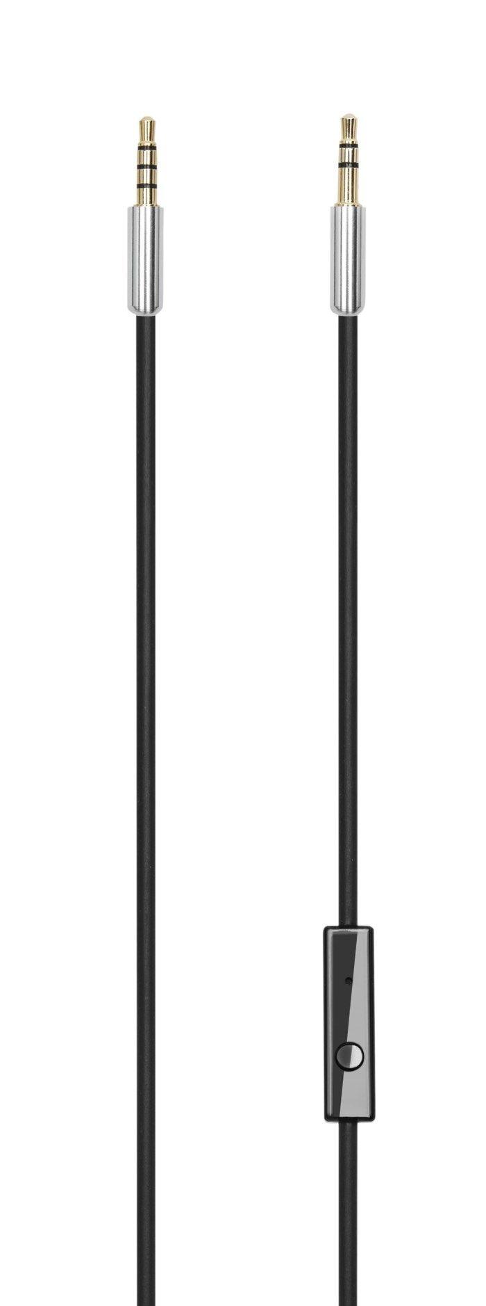 Linocell Hörlurskabel med fjärrkontroll