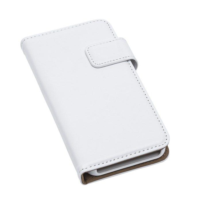 Linocell Magnetisk mobilplånbok för iPhone 5 5s och SE (2016) Vit