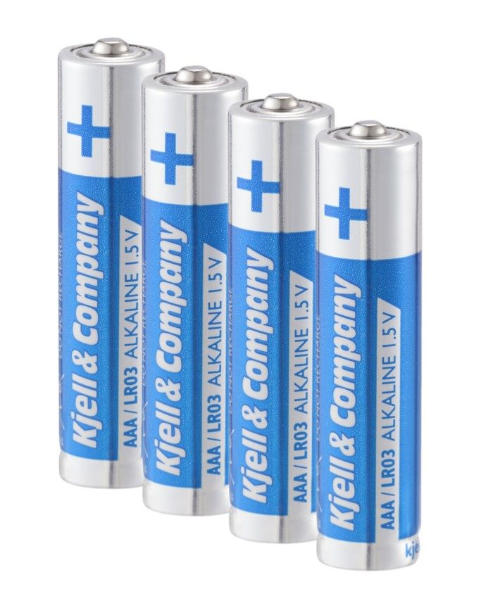 Kjell & Company AAA-batterier (LR03) 4-pack