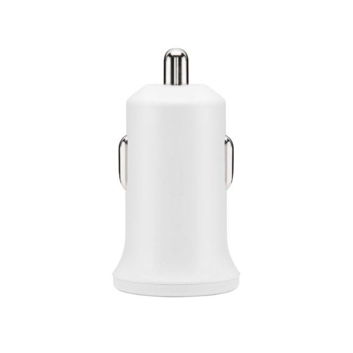 Linocell Mini USB-billaddare 2,4 A Vit