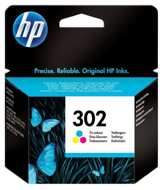 HP 302 Bläckpatron Flera färger