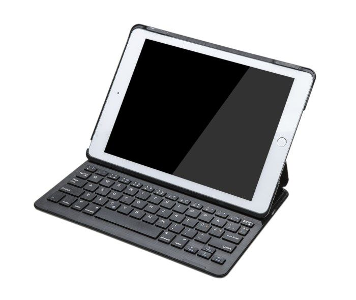 """Linocell Fodral med tangentbord för iPad Air 2 och Pro 9.7"""""""