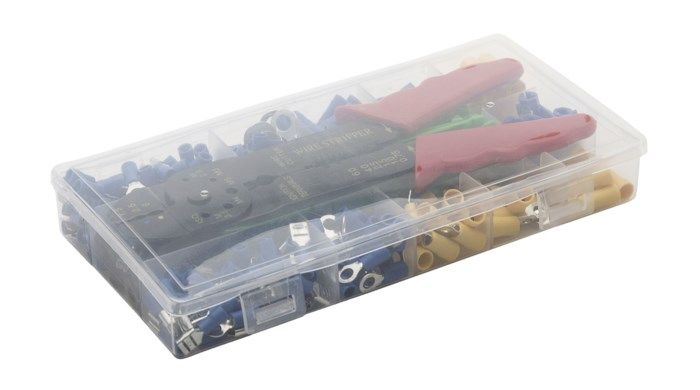 Kabelskor och pressverktyg