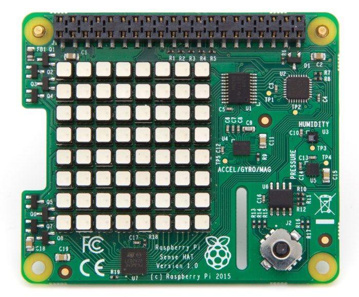 Raspberry Pi Sense HAT Sensorkort
