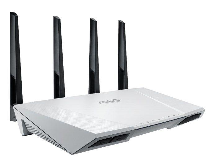 Asus RT-AC87U Nordic Trådlös router AC2350 Vit