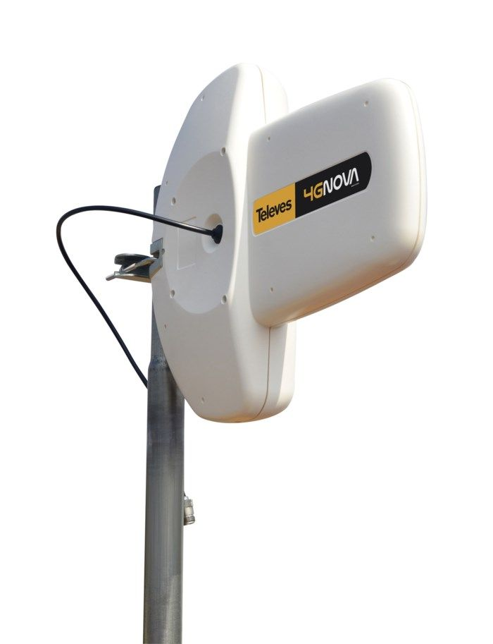 Televes 4G-nova 4G-antenn 7 dBi. Riktantenn för 2G, 3G och 4G