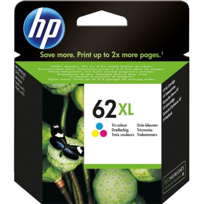 HP 62XL Bläckpatron Flera färger