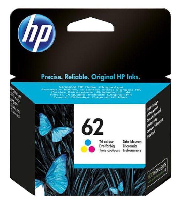 HP 62 Bläckpatron Flera färger