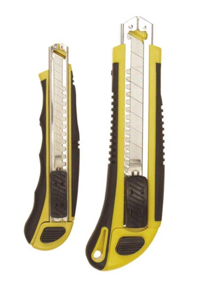 Brytbladskniv med extra fack 2-pack