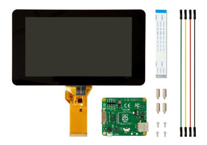 """Raspberry Pi Touchskärm 7"""""""
