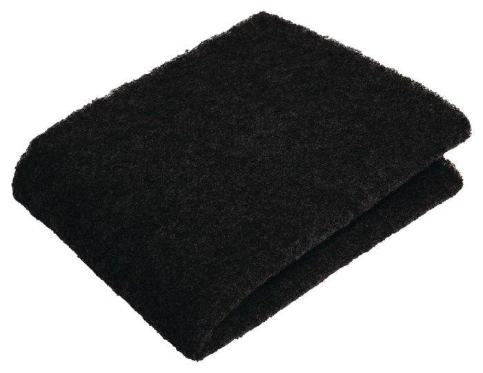Aktivt kolfilter för köksfläkt 250 g/m²