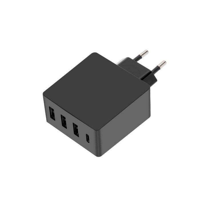 Linocell 4,8 A USB laddare med fyra portar | Laddare |