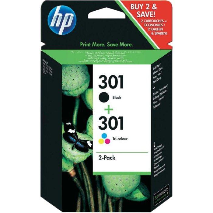 HP 301 Bläckpatroner 2-pack