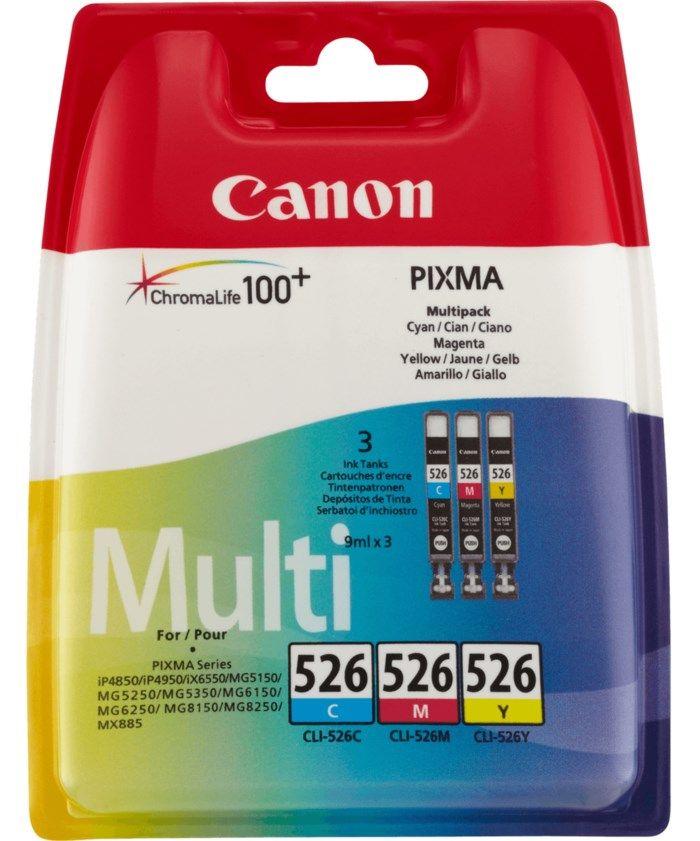 Canon CLI-526 Bläckpatroner 3-pack